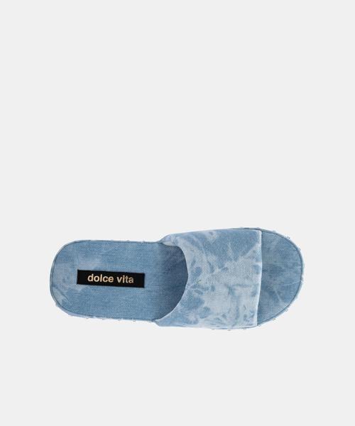 Dolce Vita Mochi Light Blue Slide