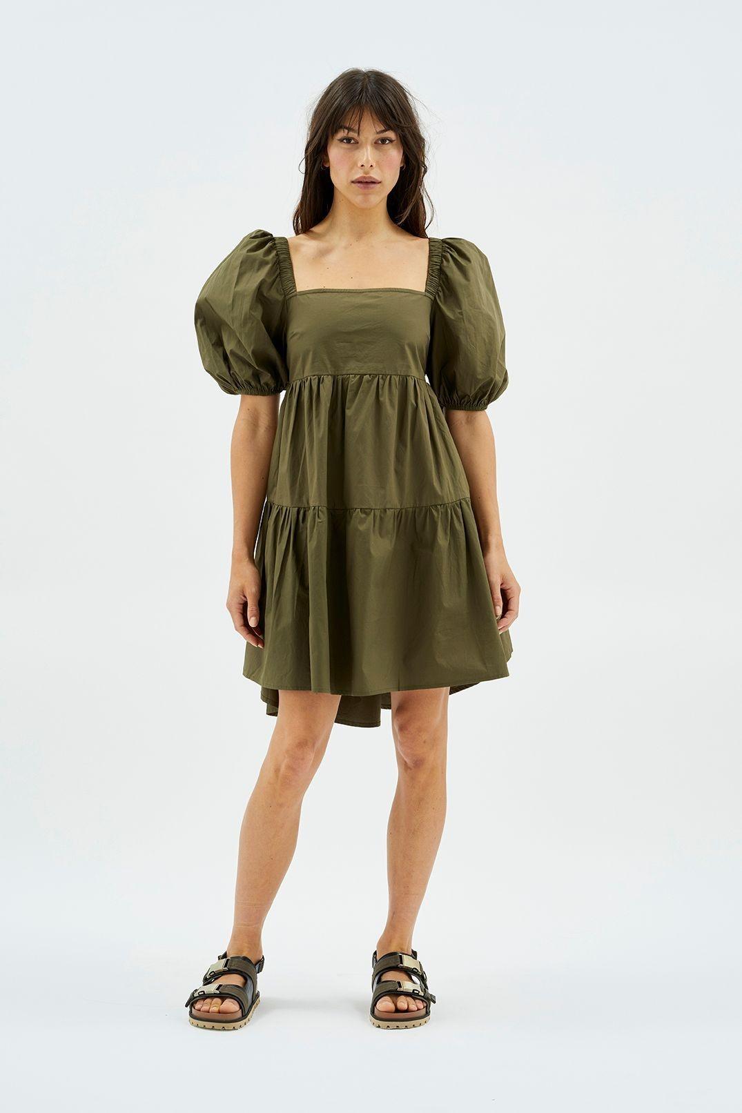 MINKPINK Issy Babydoll Smock Dress