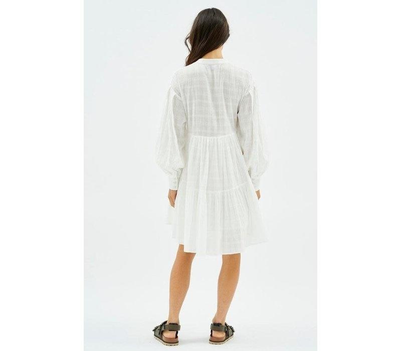 MINKPINK Erin Shirt Smock Dress Ivory