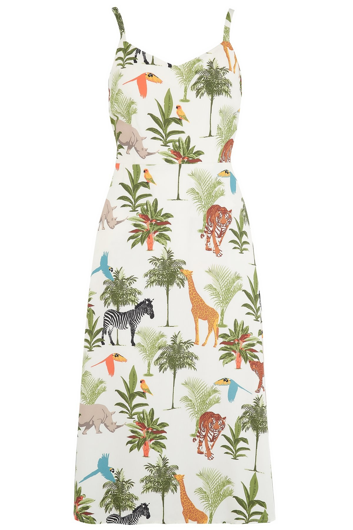 Sugarhill Brighton Lumi Sundress in Jungle Animals