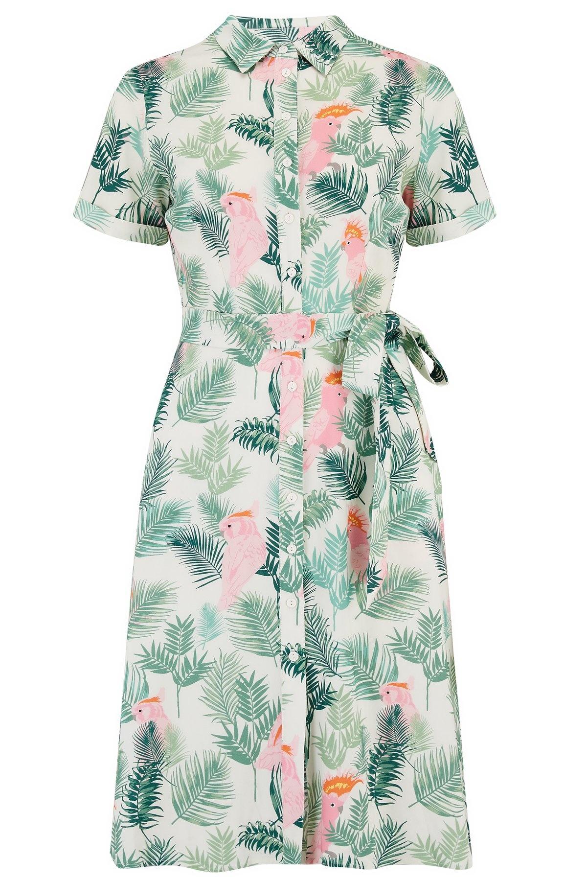 Sugarhill Brighton Abby Shirt Dress in Cockatoo
