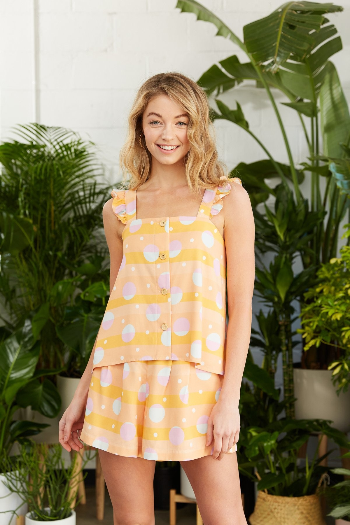 Crosby By Mollie Burch Dylan Tank in African Sunset