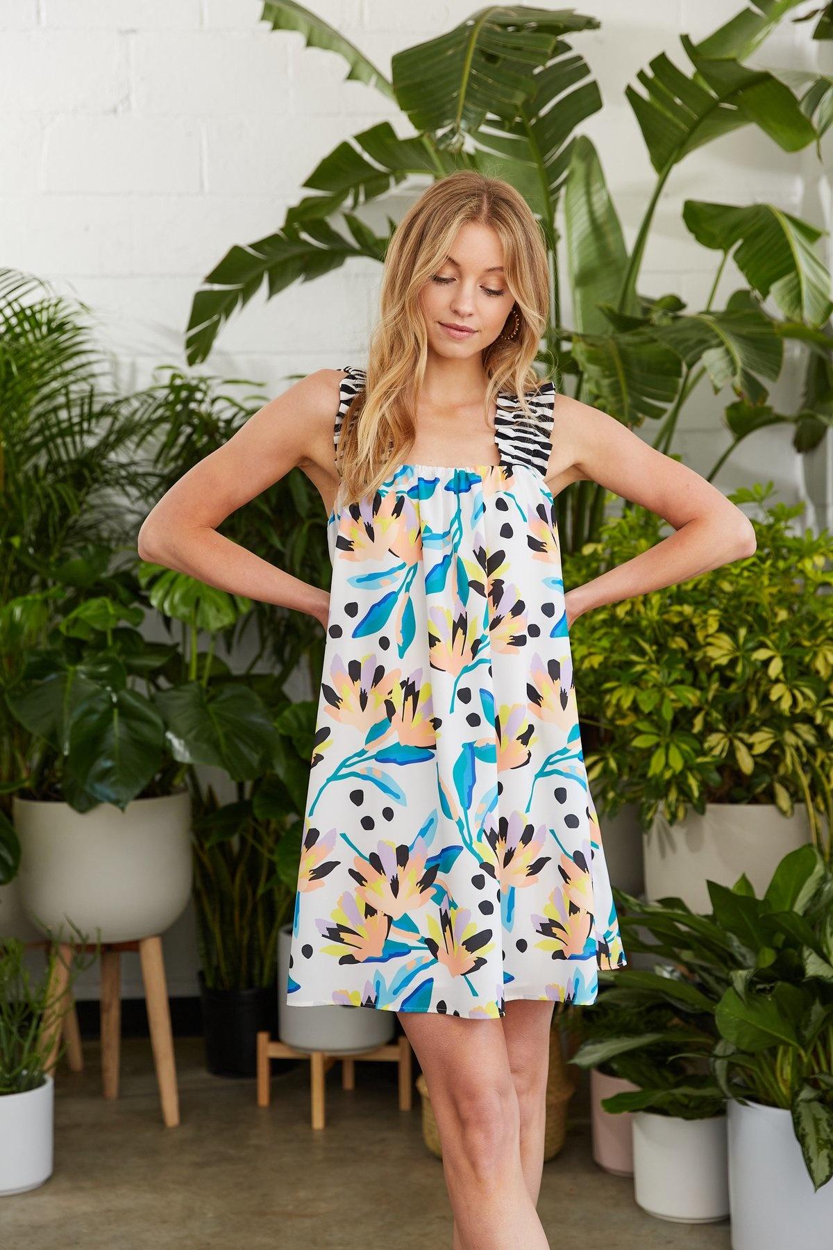 Crosby By Mollie Burch Otto Dress in Island Lilies
