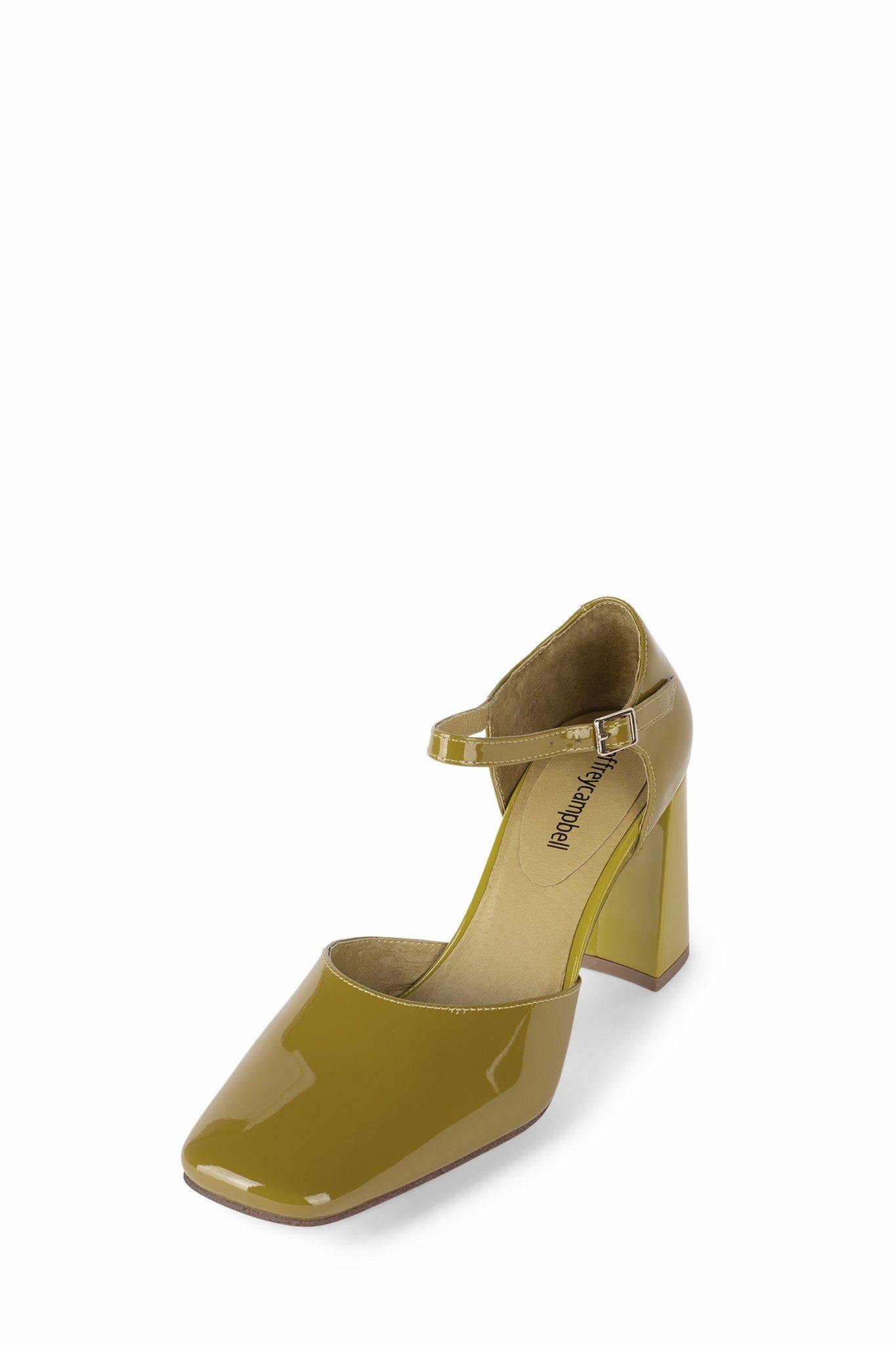 Jeffrey Campbell Brunch in Chartreuse Patent