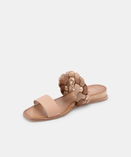 Dolce Vita Persey Sandals in Naturals