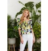 Crosby By Mollie Burch Maebel Top in Exotic Tropics