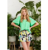 Crosby By Mollie Burch Meredith Top in Parakeet