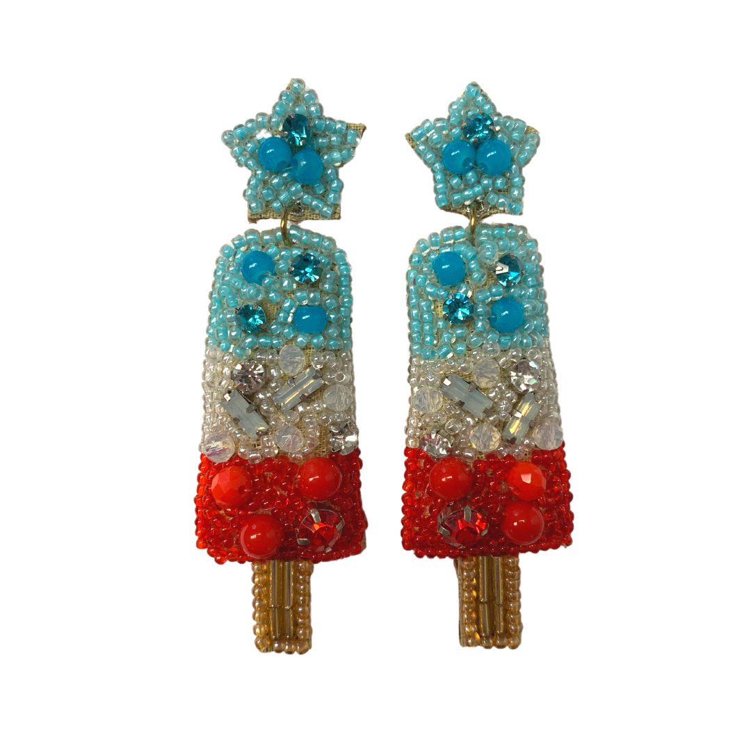 Allie Beads Popsicle Earrings