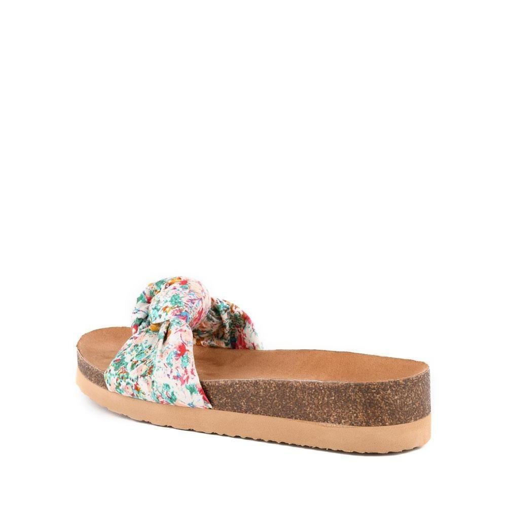 Reunion Sandal Blue Floral
