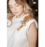 Queen of Sparkles Over the Shoulder Tigers Sweatshirt Tank