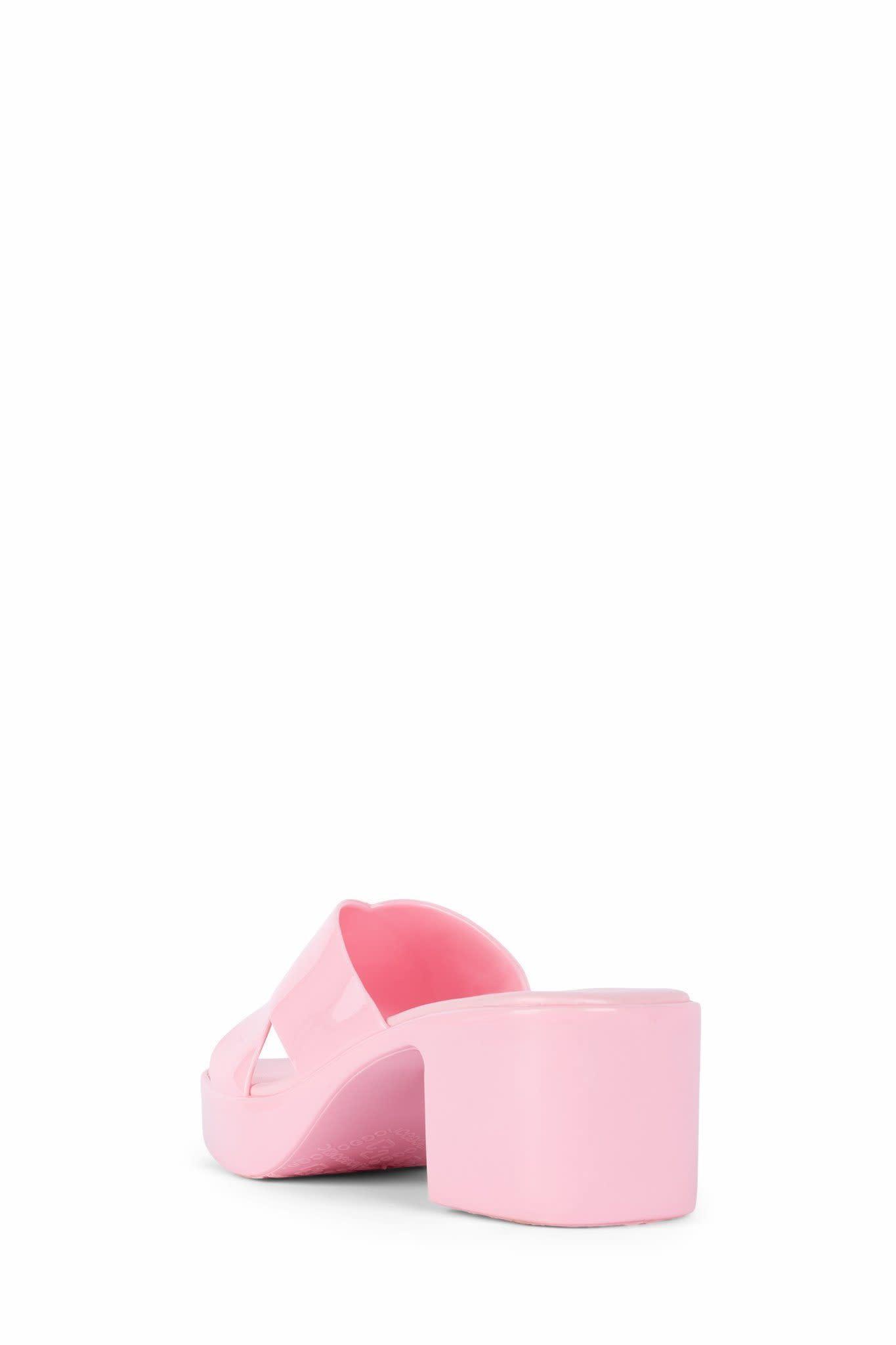 Jeffrey Campbell Bubblegum Pink Jelly Sandal