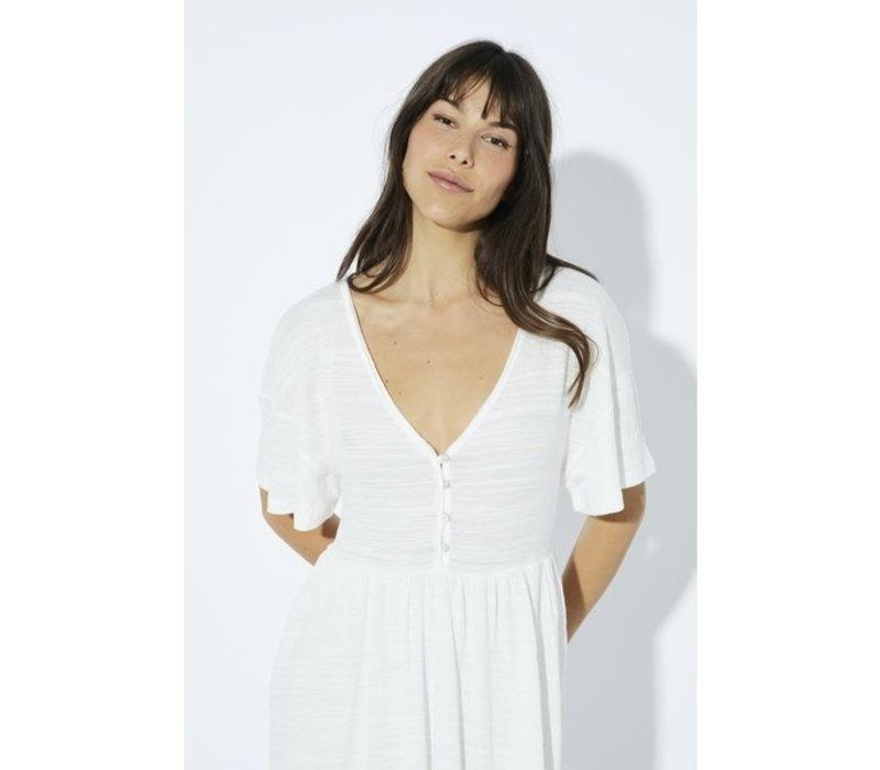 MINKPINK Lulah White Babydoll Dress