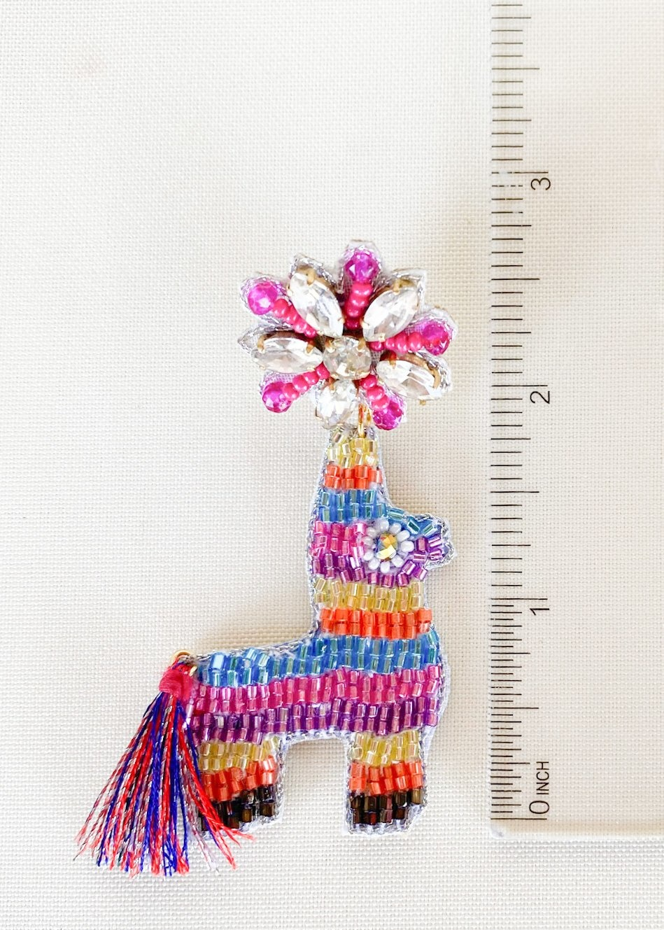 Dos Femmes Donkey Piñata Earrings