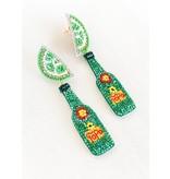 Dos Femmes Topo Lime Water Earrings