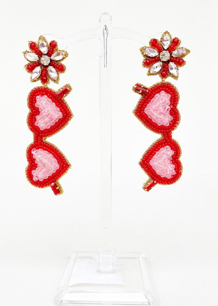 Dos Femmes True Love Sunnies Earrings