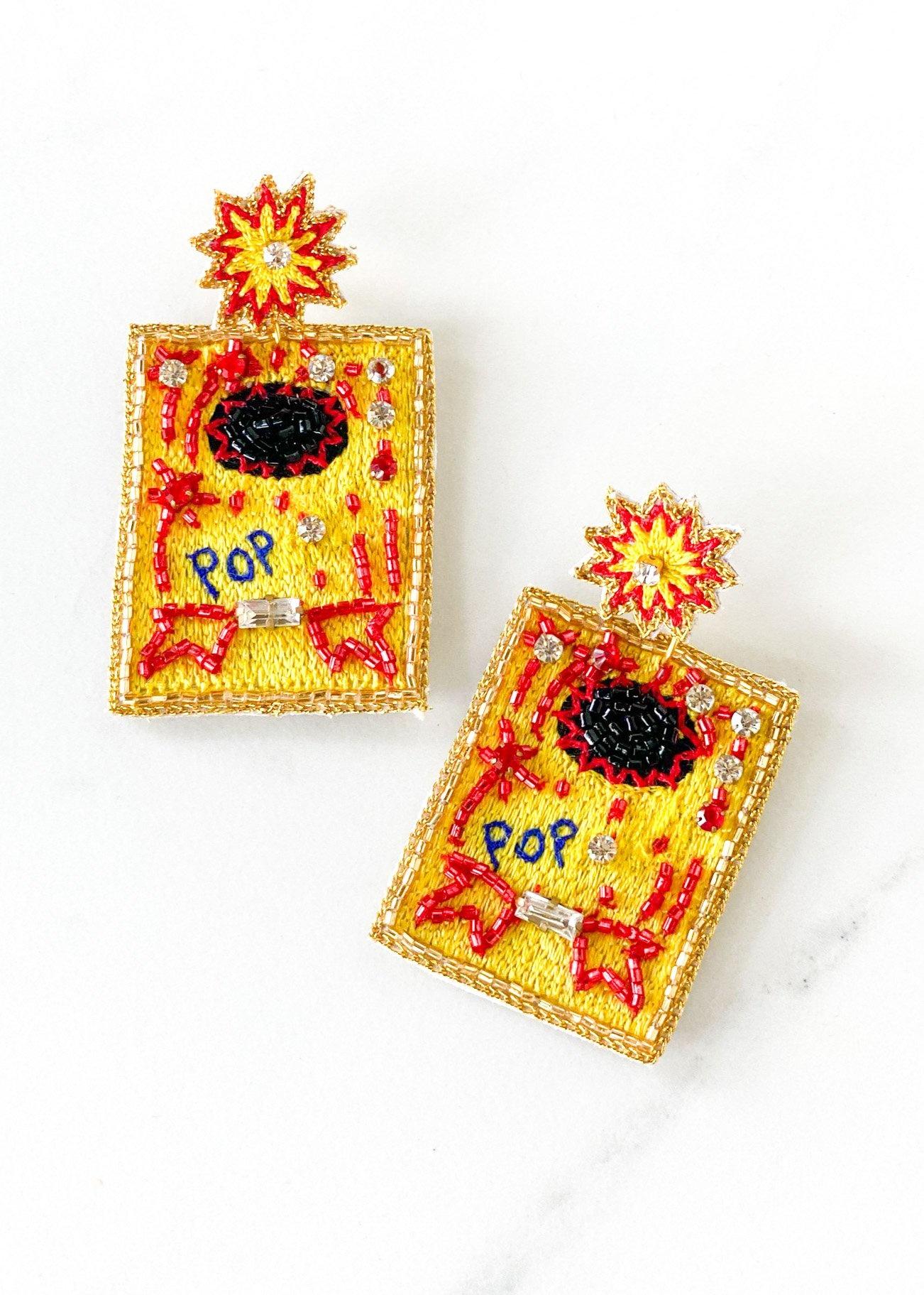 Dos Femmes Pop! Earrings