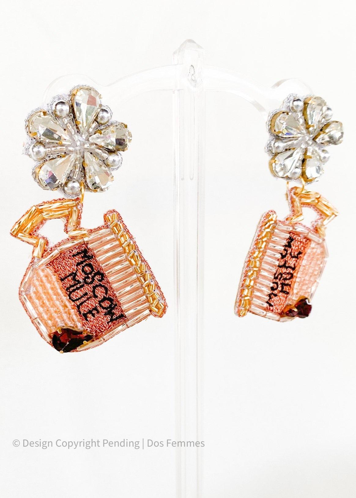Dos Femmes Moscow Mule Earrings
