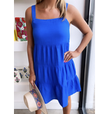 S'edge Apparel Chanel Dress - Marine Blue