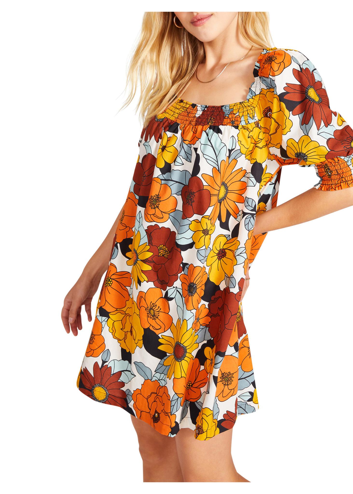 BB Dakota Vacay Mode Floral Dress