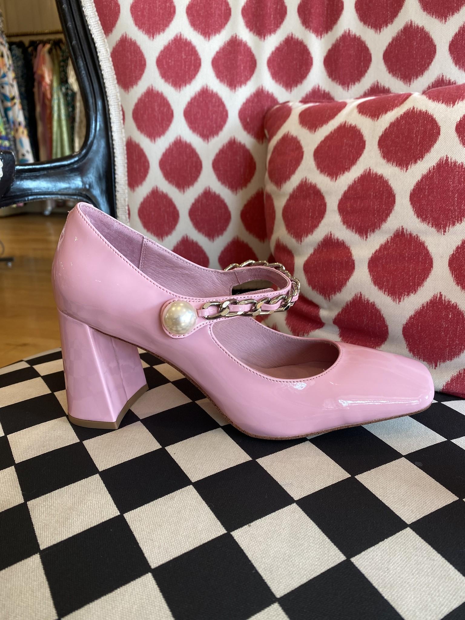 Jeffrey Campbell Bourdin-Ch Light Pink Heel