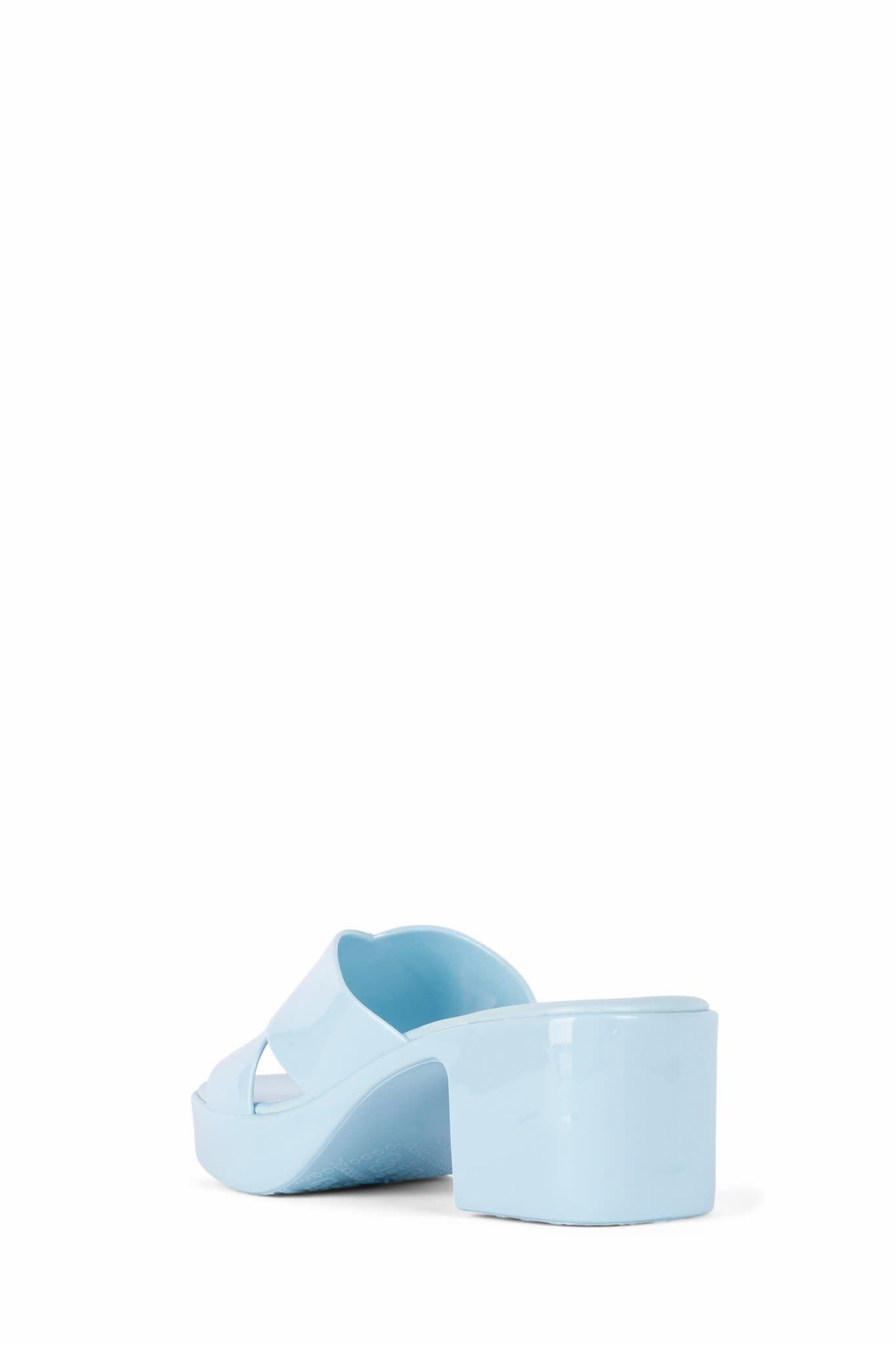 Jeffrey Campbell Bubblegum Baby Blue Jelly Sandal