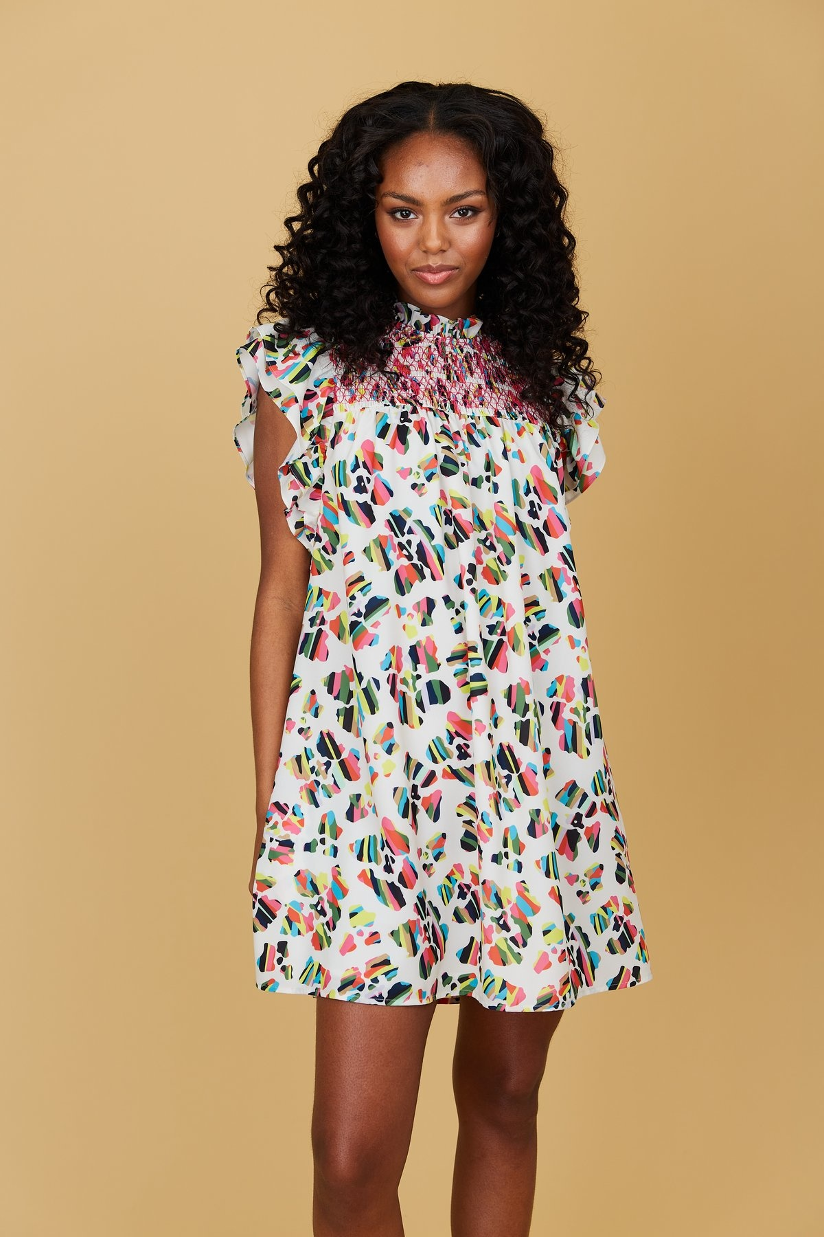 Crosby By Mollie Burch Quinn Dress in Panthera