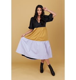 Crosby By Mollie Burch Brawley Dress in Colorblock