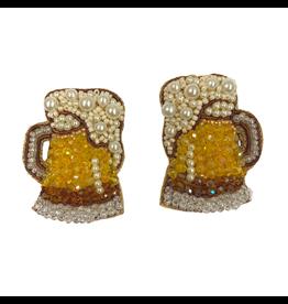 Allie Beads Beer Mug Earrings