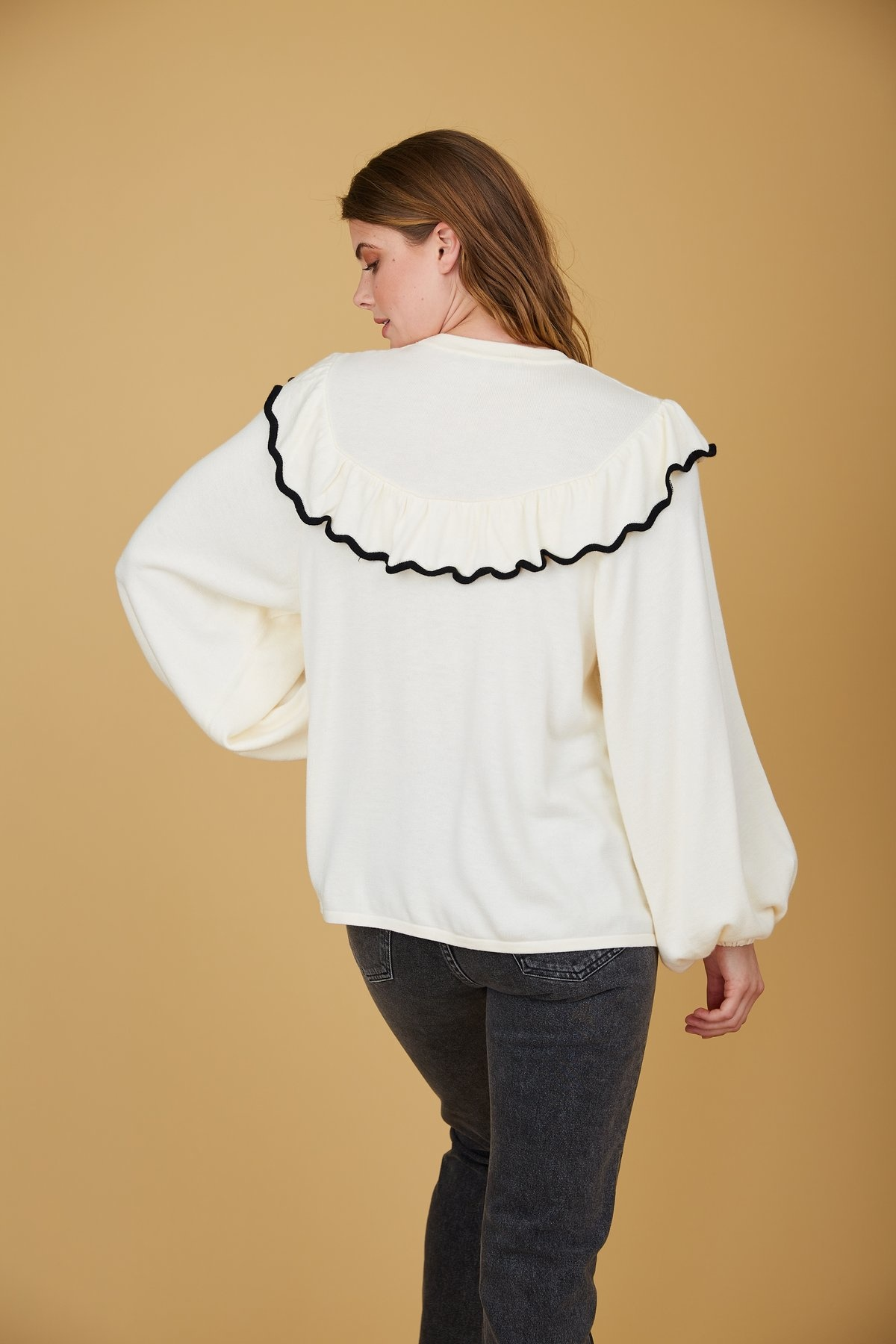 Crosby By Mollie Burch Brooks Sweater Canvas