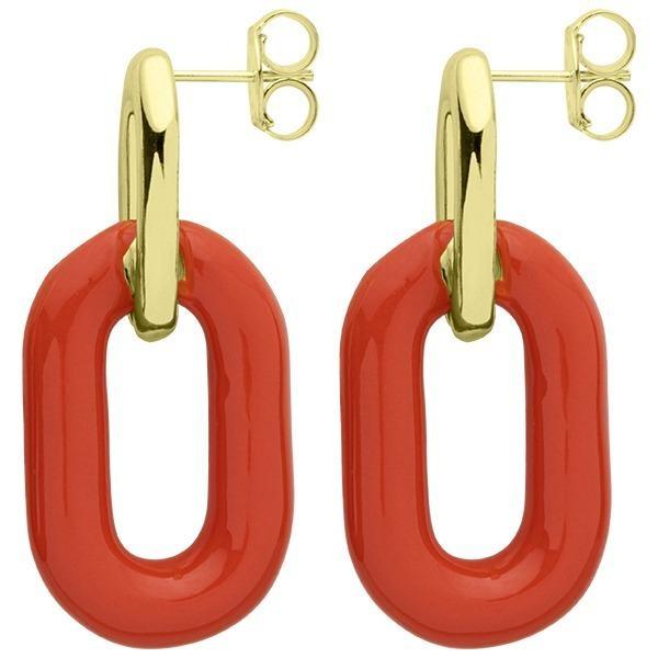 Sheila Fajl Small Shakedown Earrings Orange