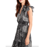 BB Dakota Mix Degree Midi Dress