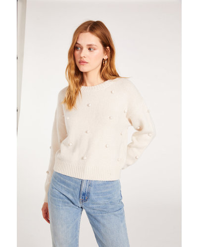 BB Dakota Bobble Yum Sweater Oatmeal