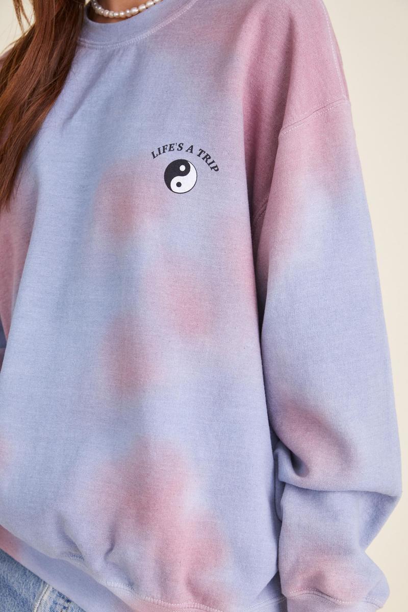 Project Social T Life's A Trip Sweatshirt