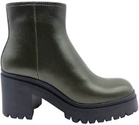 Jeffrey Campbell Anemone Olive Boot