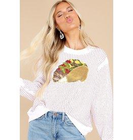 Queen of Sparkles Taco Sweatshirt