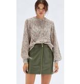 MINKPINK Zahlee Pu Mini Skirt