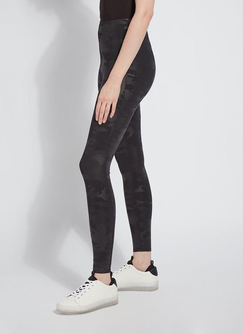 Lysse Black Camo Matilda Foil Legging