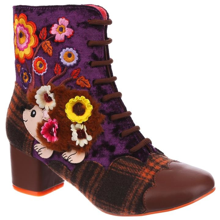 Irregular Choice Hedge Hugs Boot
