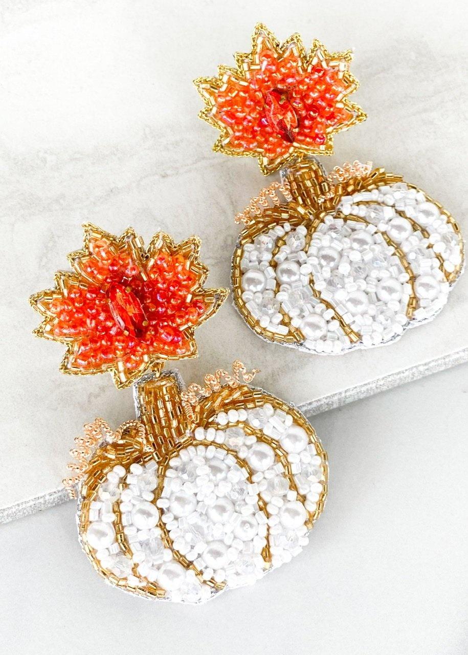 Dos Femmes Cinderella Pumpkin Earrings