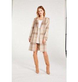 BB Dakota Plaid To Be Said Coat