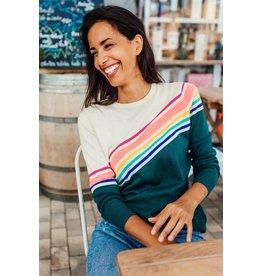 Sugarhill Brighton Rita Fractured Spectrum Sweater