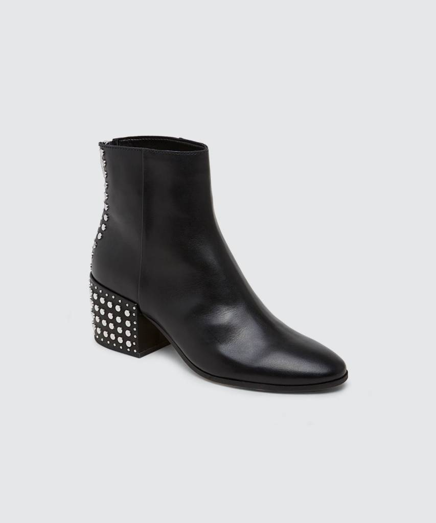 6bb57b6607100 Dolce Vita Mazey Studded Boots - The Shoe Attic