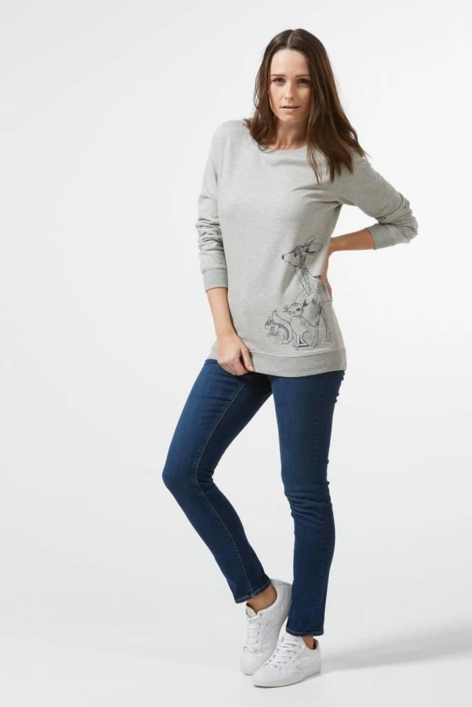 Sugarhill Brighton Alanis Woodland Animal Sweatshirt
