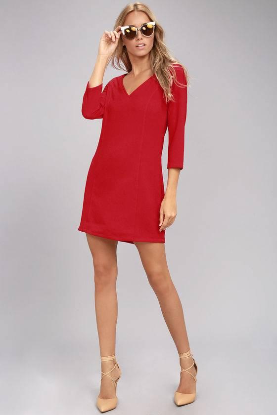 Jack by BB Dakota Luther Long Sleeve Dress