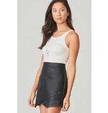 Jack by BB Dakota Angeline Vegan Leather Skirt