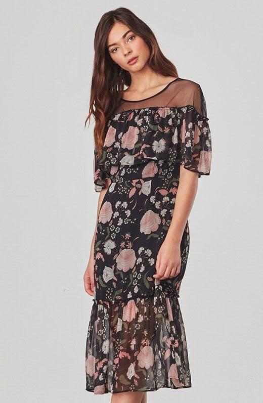 BB Dakota Rella Ruffle Dress