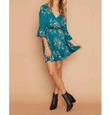 MINKPINK Secret Garden Plunge Dress