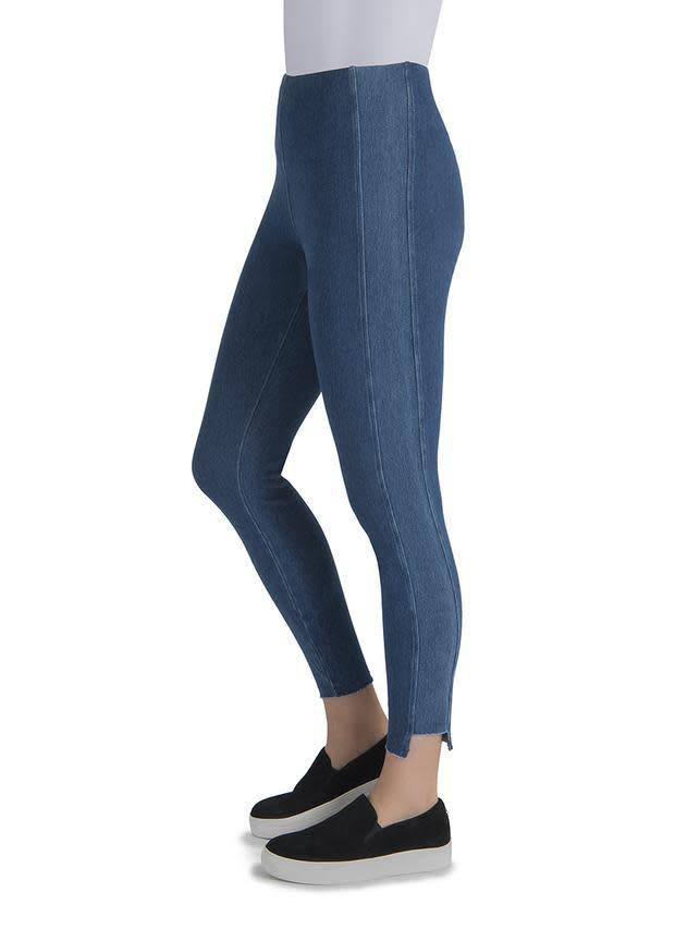 Lysse Step Hem Denim Mid Wash