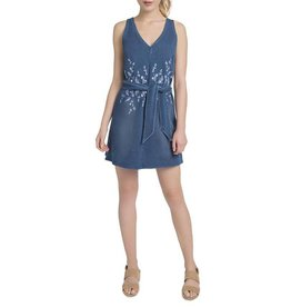 Lysse Cooper Denim Dress Mid Wash