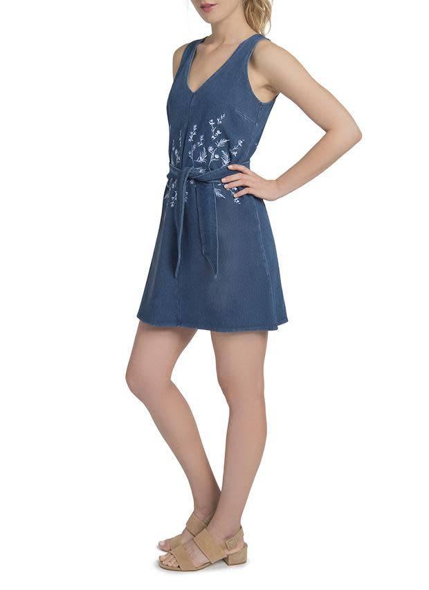 Lysse Cooper Denim Dress Mid Wash